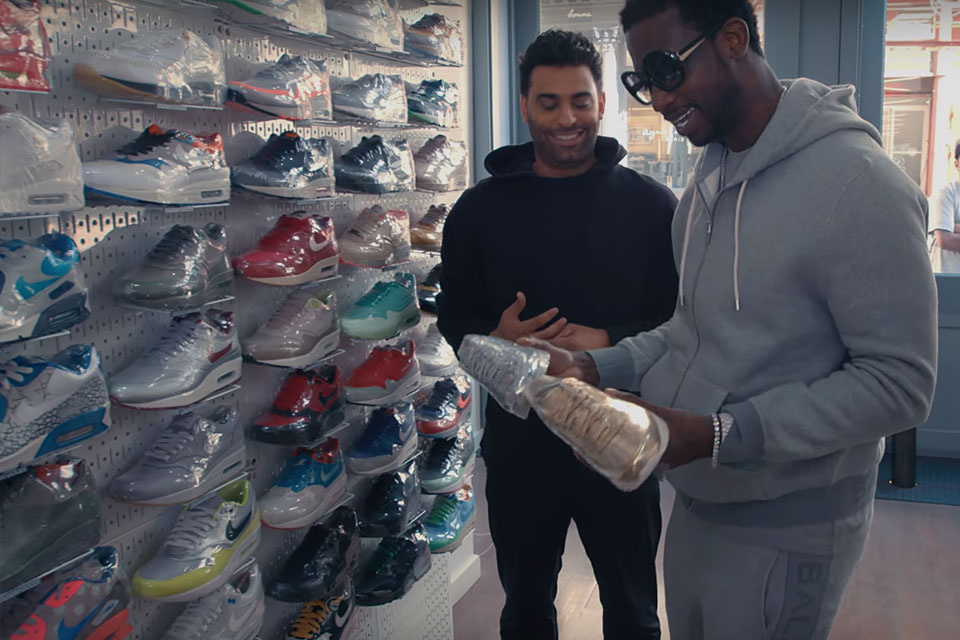Sneaker Shopping with Gucci Mane