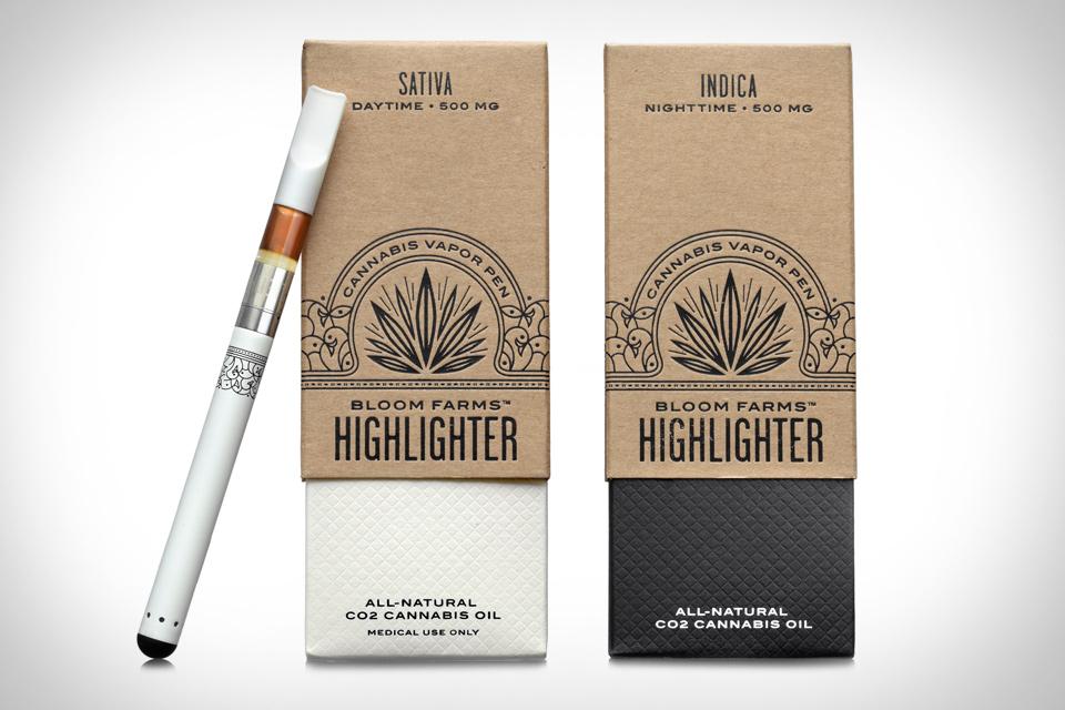 Bloom Farms Highlighter Cannabis Vapor Pen