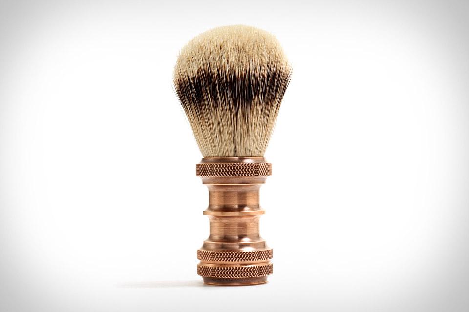 J. L. Lawson Copper Shaving Brush