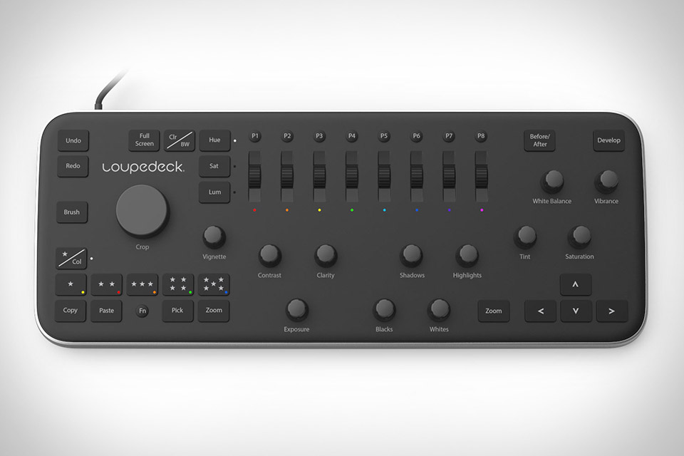 Loupedeck Lightroom Editing Console
