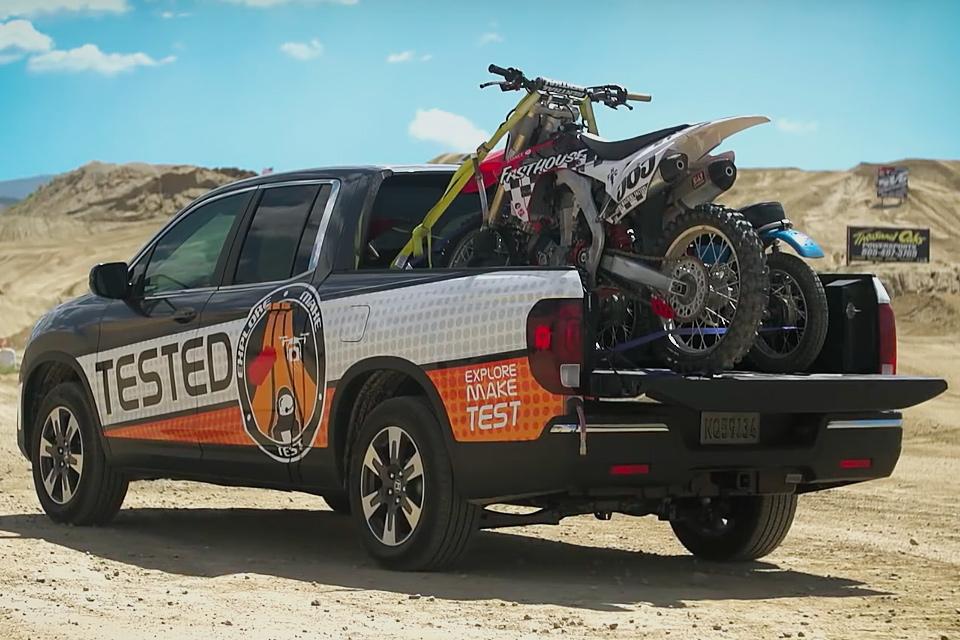 Image Result For Honda Ridgeline Motocross Truck
