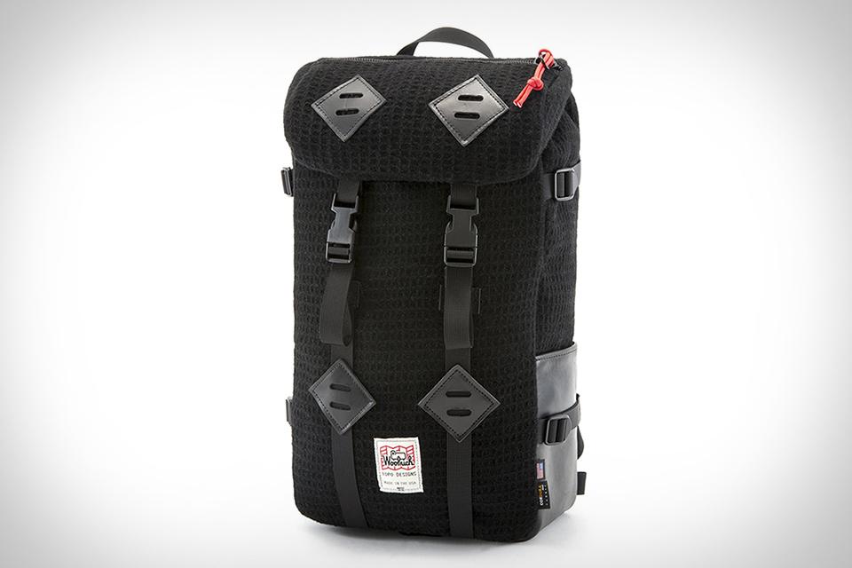 Topo Designs x Woolrich Klettersack