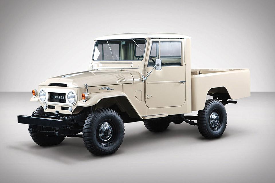 1964 Toyota FJ45 Land Cruiser Truck | Uncrate