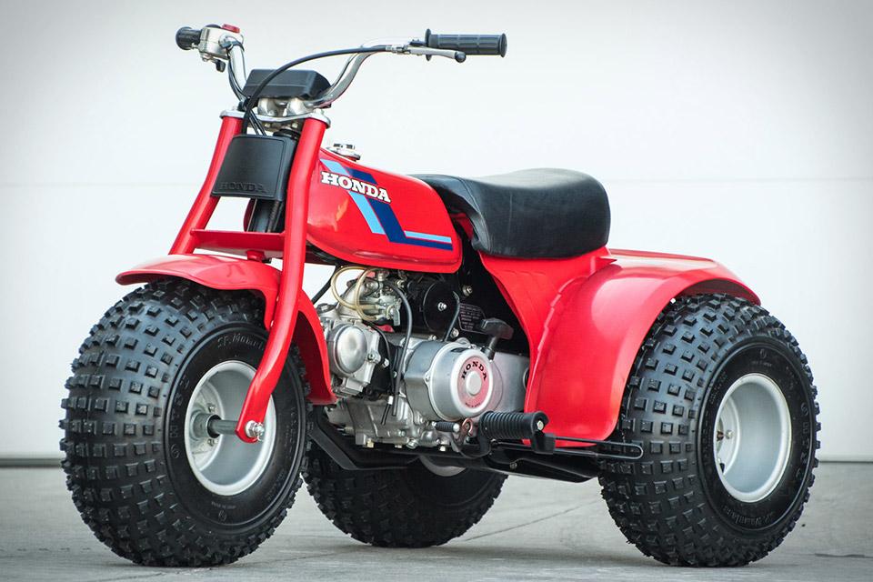 1984 Honda ATC 70 Three Wheeler | Uncrate