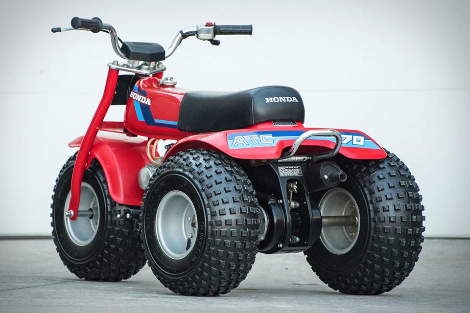 Honda Atc 70 : Honda atc three wheeler uncrate