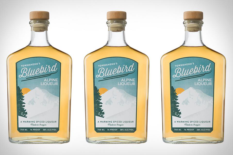 Townshend's Bluebird Alpine Liqueur