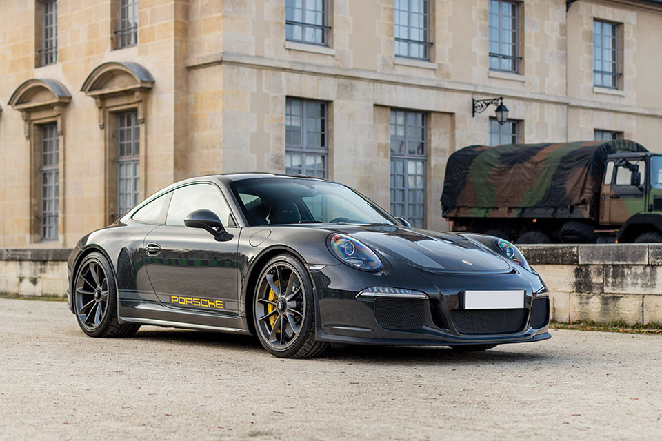 2016 Porsche 911 R Steve McQueen Tribute