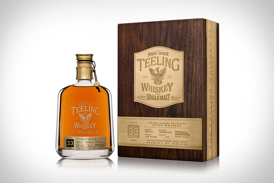 Teeling 33 Year Old Single Malt Irish Whiskey