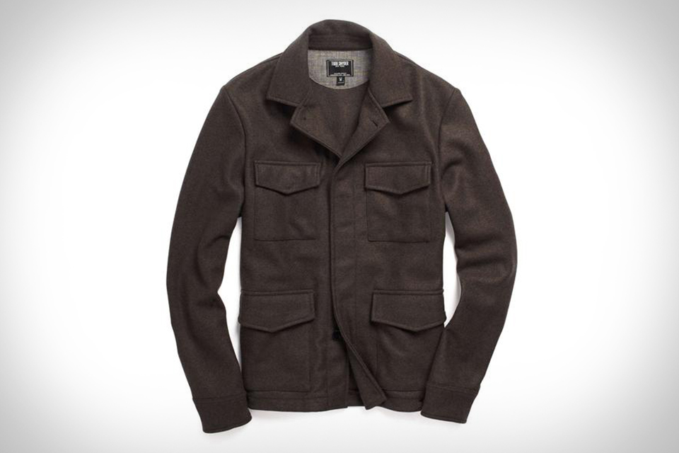 Todd Snyder Japanese Knit Field Jacket