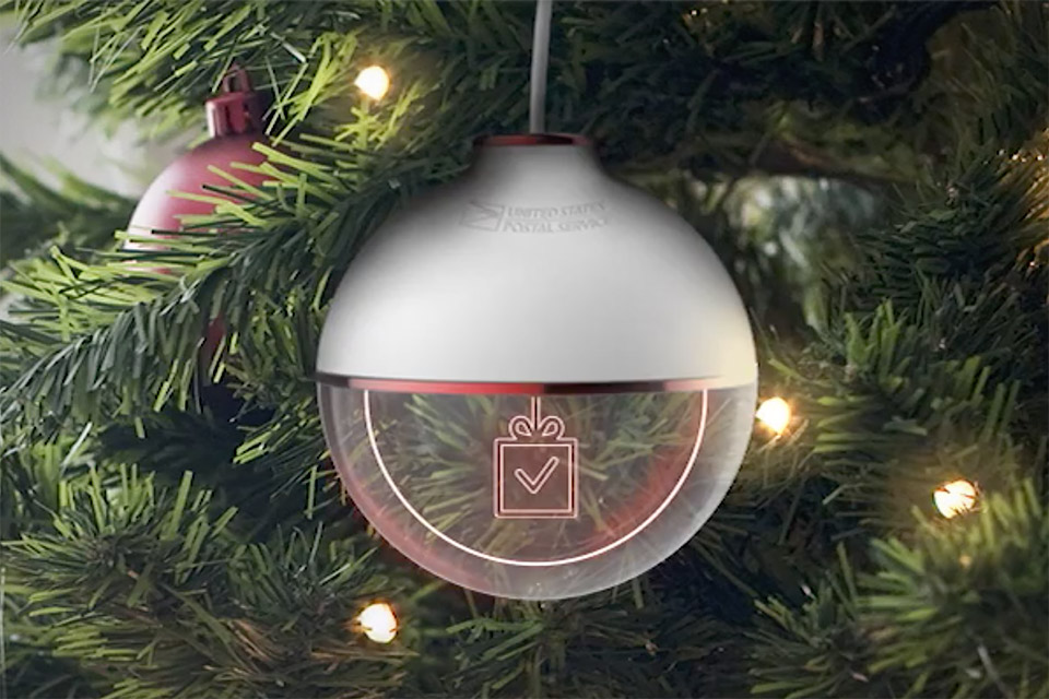 USPS Gift Tracking Ornament