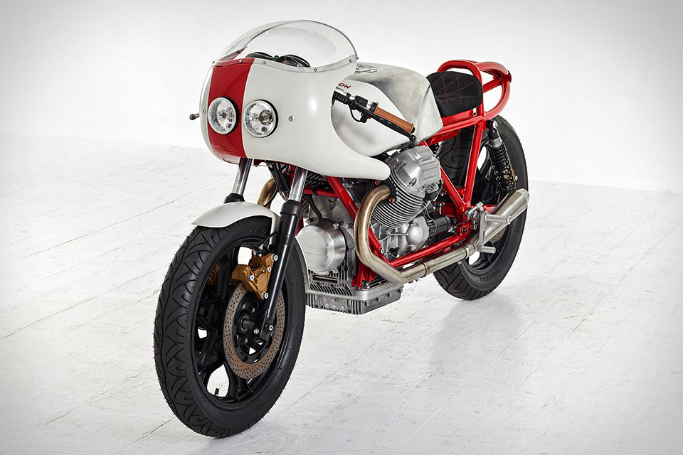 Death Machines of London Moto Guzzi Airtail Motorcycle