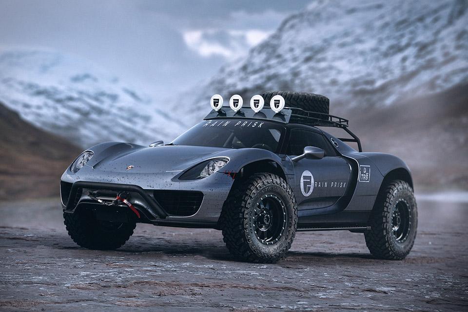 Rain Prisk Off-Road Car Concepts