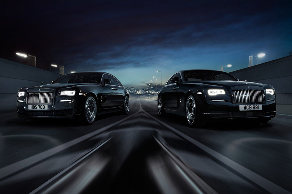 Rolls Royce Black Badge Editions