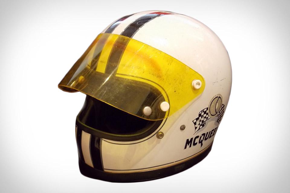 Steve McQueen's Racing Helmet