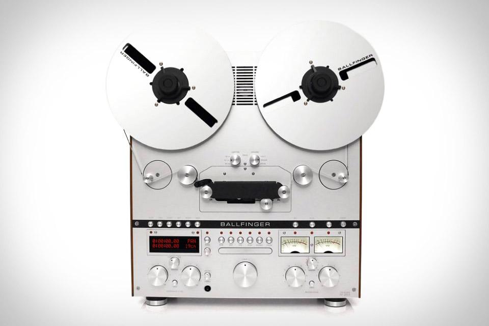 Ballfinger Reel-To-Reel Tape Player