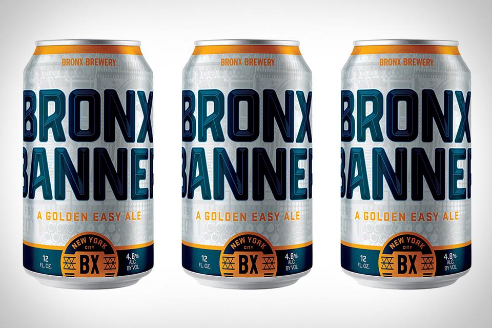Bronx Banner Beer