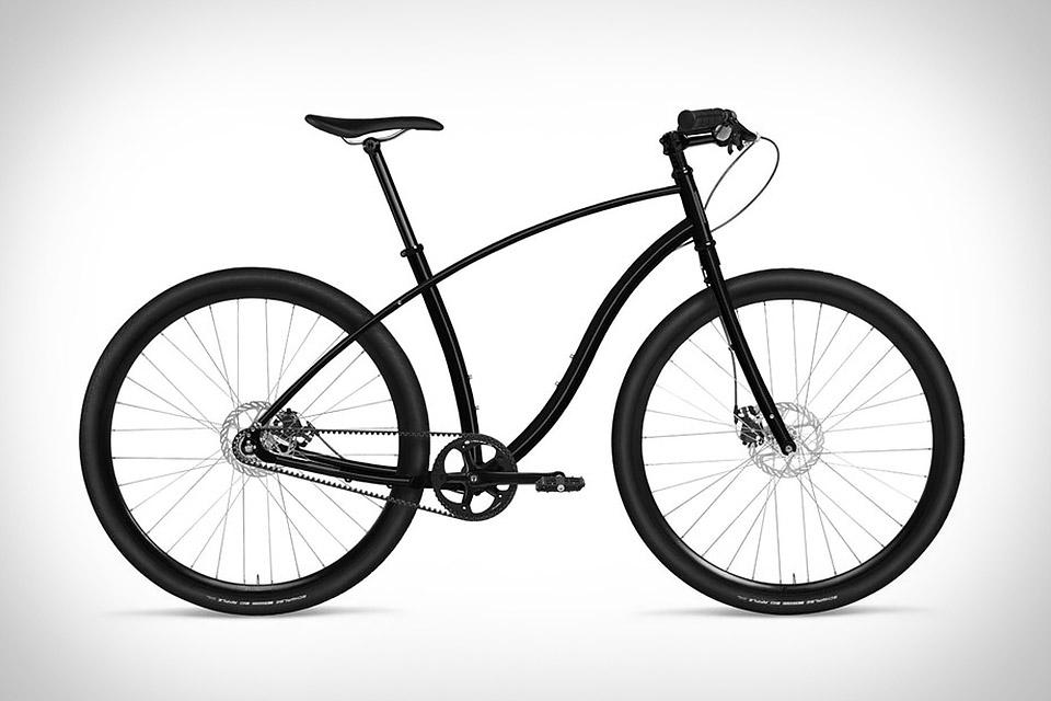 Budnitz No.3 Pitch Black Bicycle