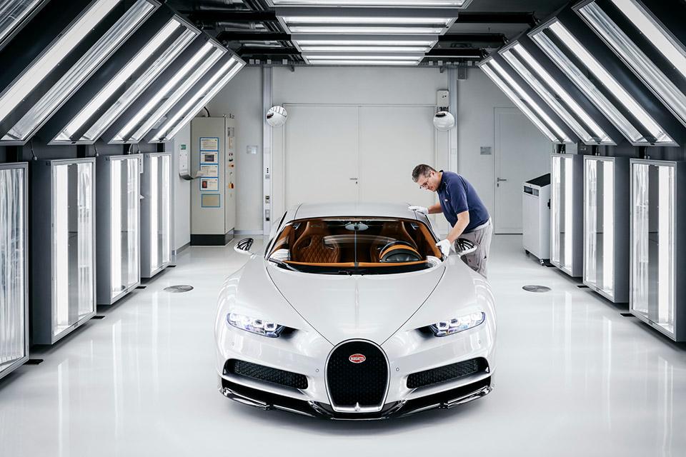 Process: Bugatti Chiron