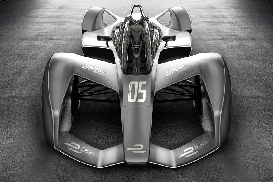 Spark SRT05E Formula E Race Car