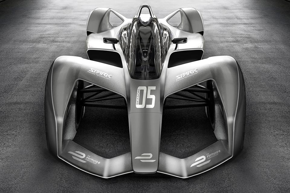 Spark SRT05E Formula E Race Car