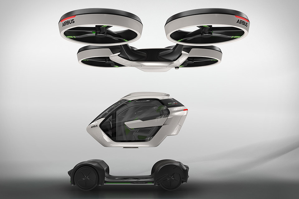 airbus pop up flying vehicle concept uncrate. Black Bedroom Furniture Sets. Home Design Ideas