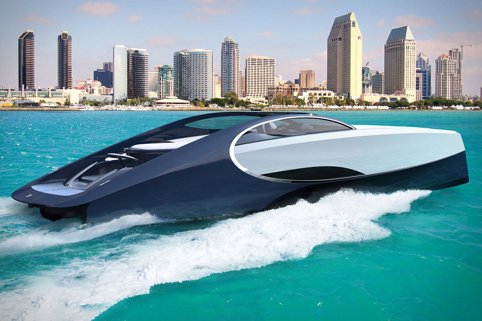 Palmer Johnson x Bugatti Niniette 66 Yacht