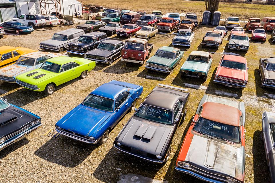 Classic Car Graveyard Uncrate