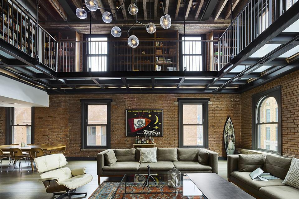Hubert St. Triplex Penthouse