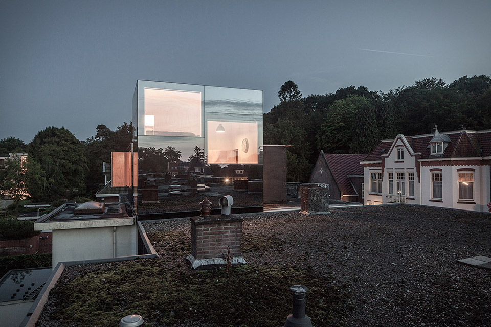 Mirror Mirror Roof House