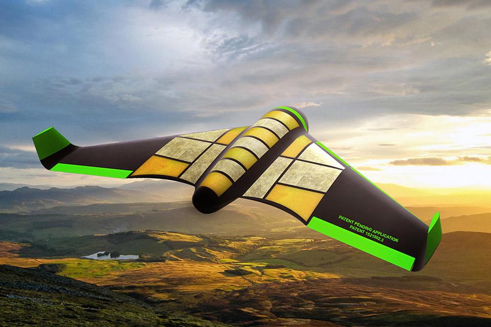 Pouncer Edible Drone