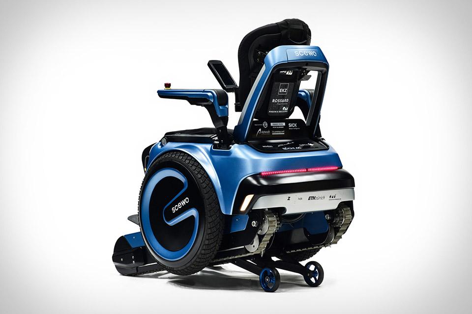 Scewo Stair-Climbing Wheelchair