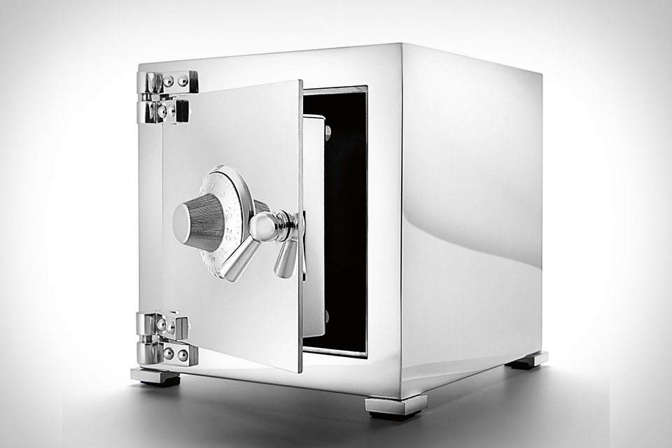 Asprey Sterling Silver Safe