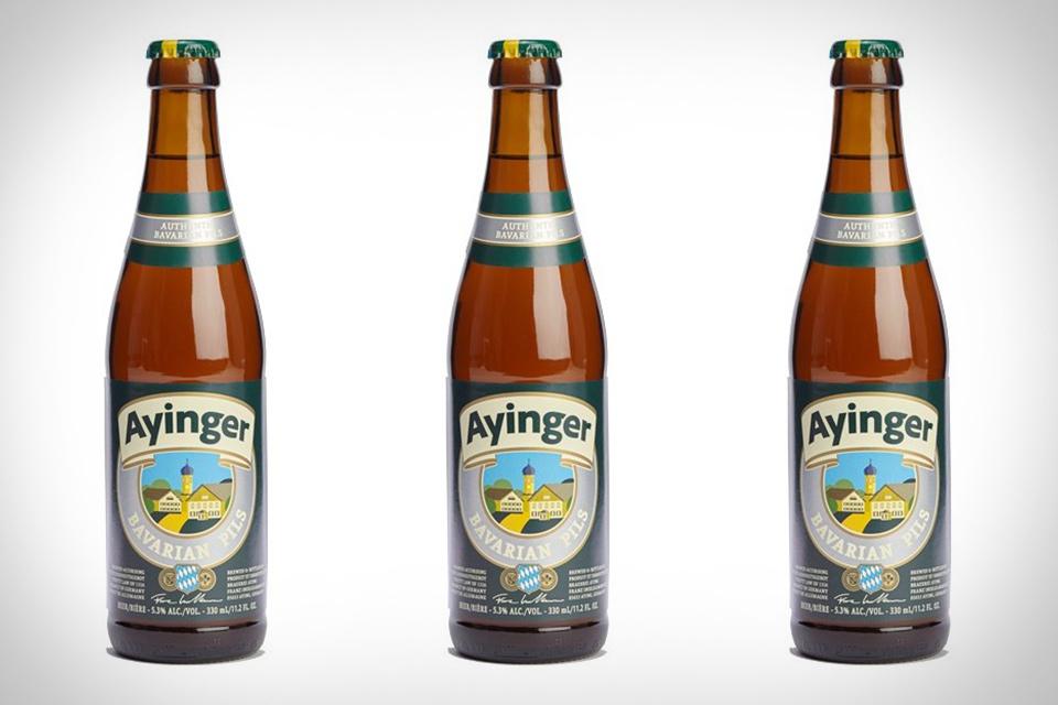 Ayinger Bavarian Pilsner Beer