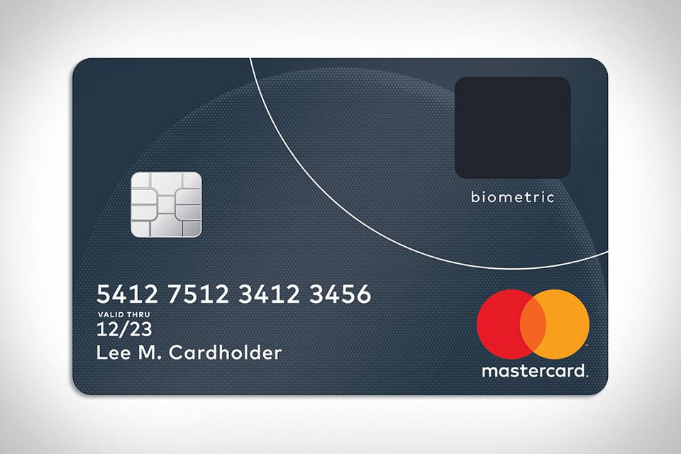 Mastercard Biometric Credit Card
