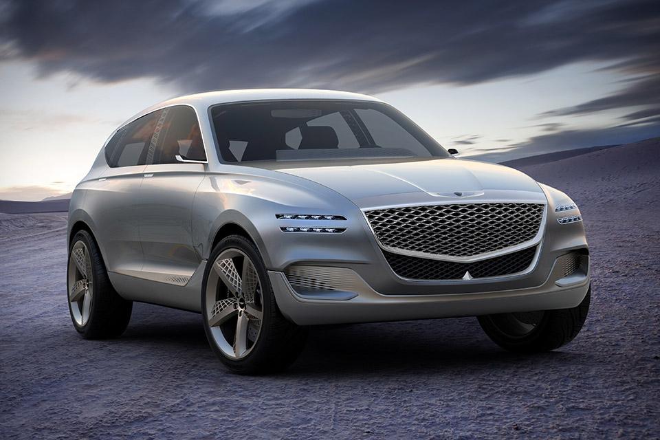 Genesis GV80 Fuel Cell SUV Concept