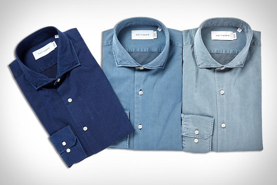 Mott & Bow Denim Shirts
