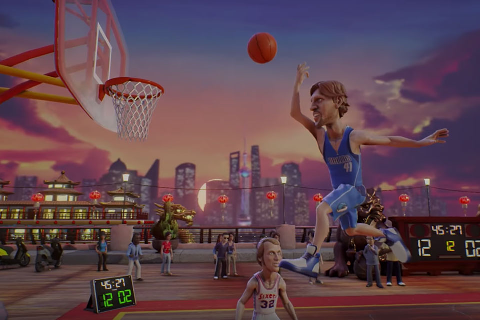 NBA Jam and Its Impossible Moves Come to Android