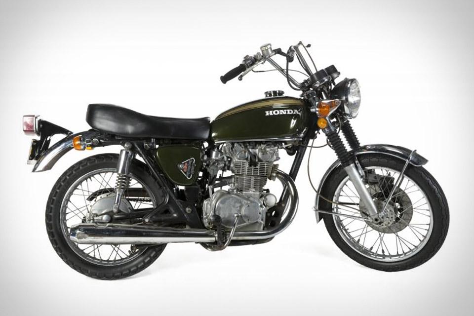 Steve McQueen's 1972 Honda CB450 Motorcycle