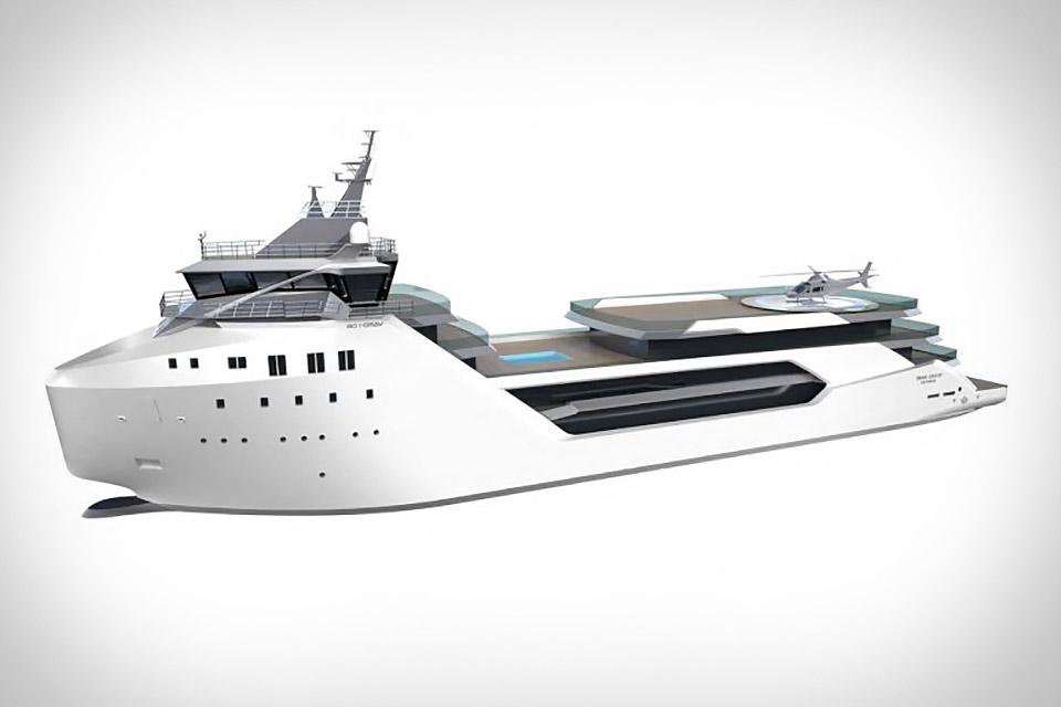 Vard 1-08 Kilkea Superyacht