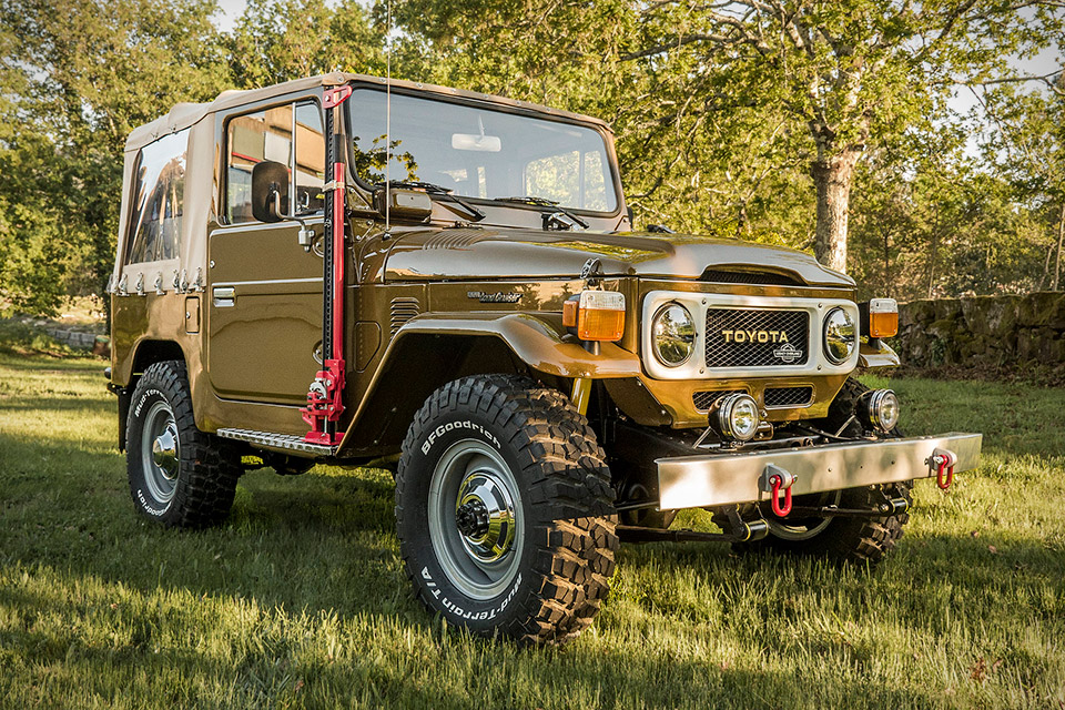 1982 Legacy Overland Toyota Land Cruiser BJ40 | Uncrate