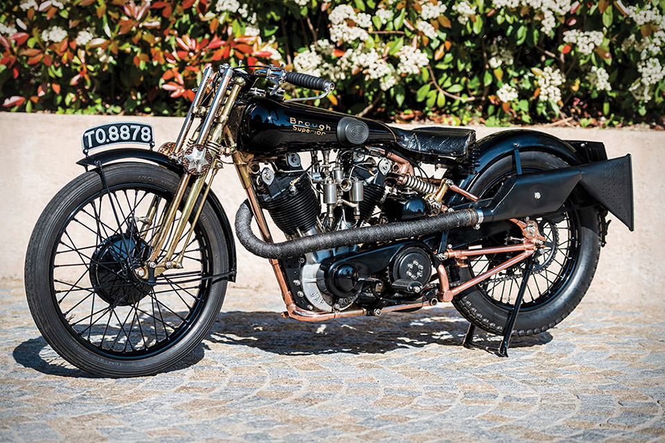 1928 Brough Superior SS100 Motorcycle