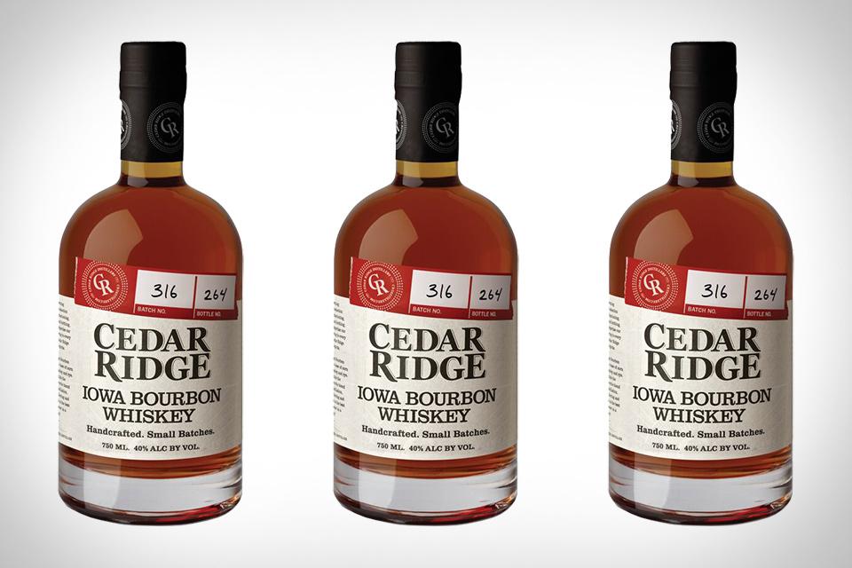 Cedar Ridge Iowa Bourbon