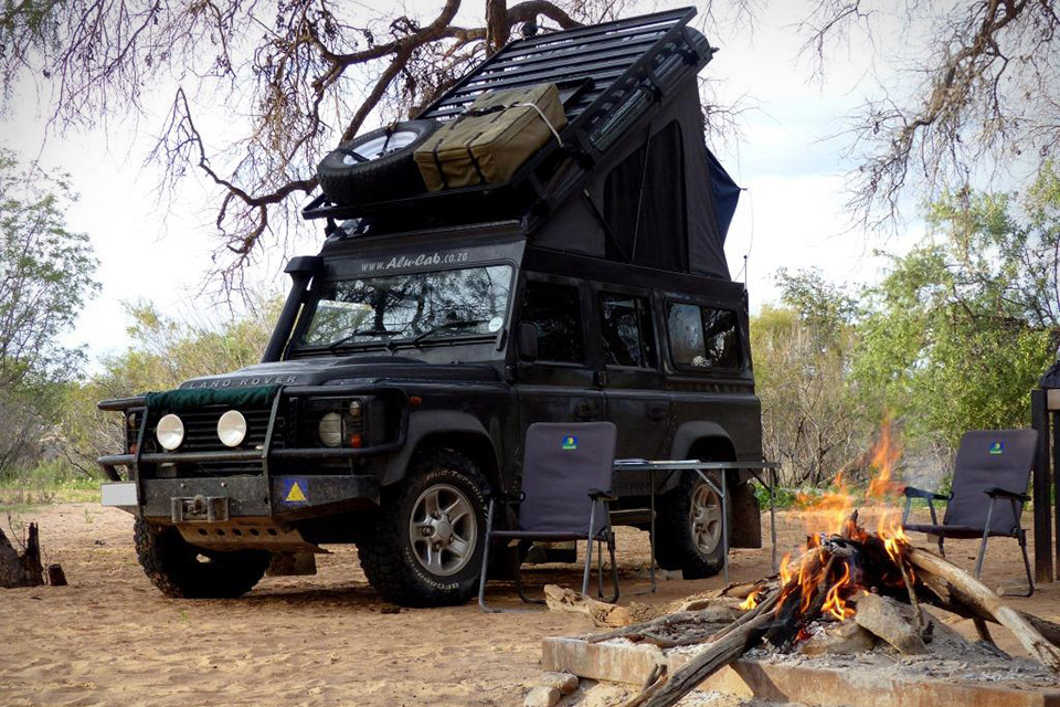 Land Rover Defender Rooftop Sleeper Conversion