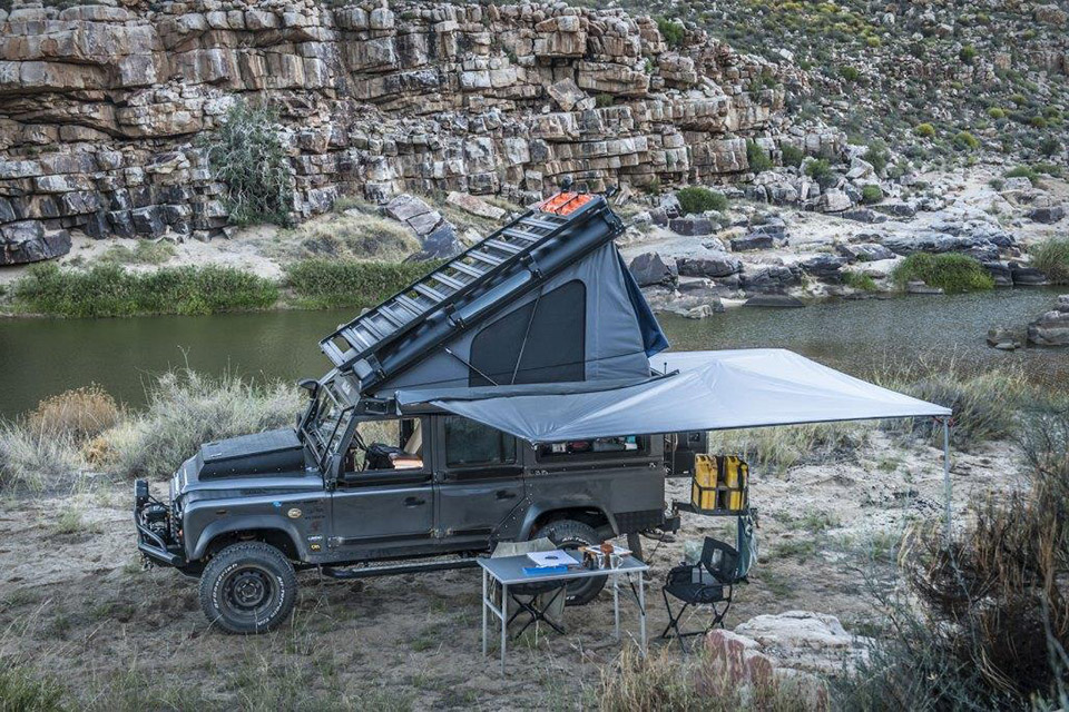Land Rover Defender Rooftop Sleeper Conversion Uncrate