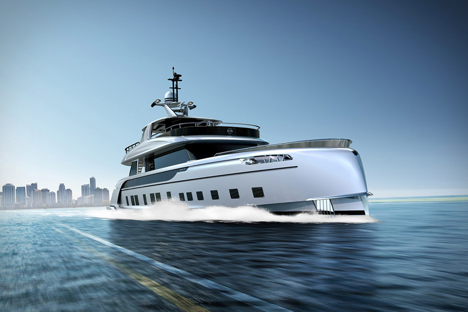 Build-Your-Own Dynamiq Yacht
