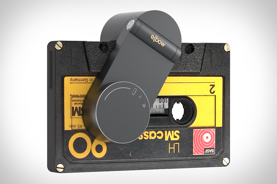 Elbow Cassette Tape Player