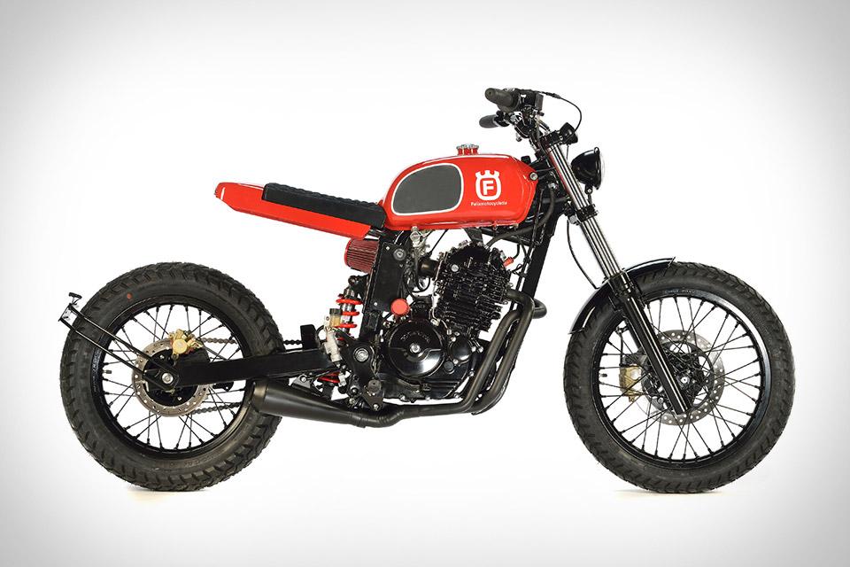 Honda FX650 Fusqvarna Motorcycle