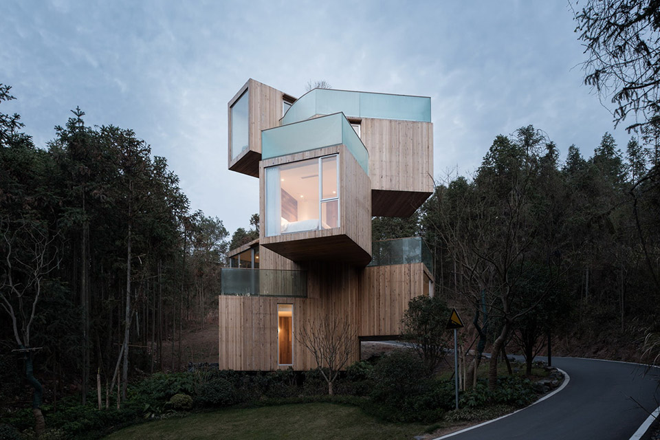 Qiyunshan Tree House Hotel