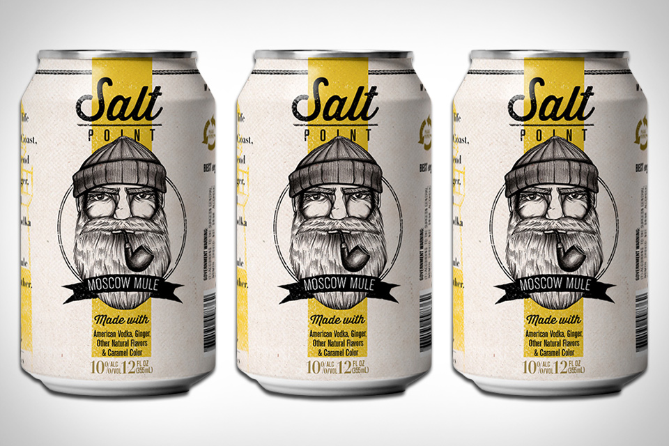 Salt Point Canned Moscow Mule