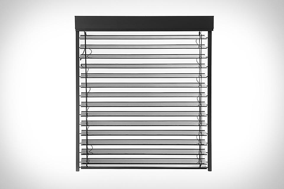 SolarGaps Solar Panel Window Blinds
